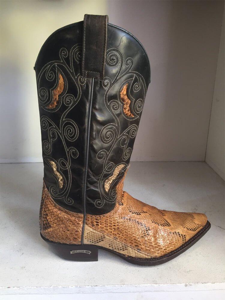 Rattlesnake Style Cowboy Boot