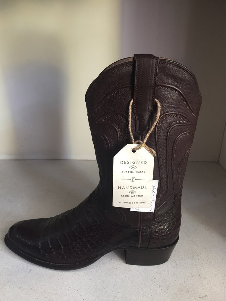 Brown Leather Cowboy Boot Austin Texas