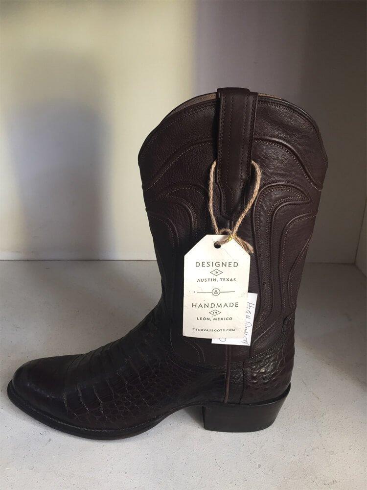Brown Leather Cowboy Boot Austin Texas