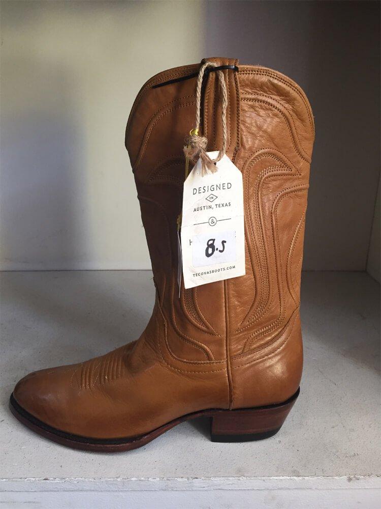 Tan Cowboy Boot Austin Texas